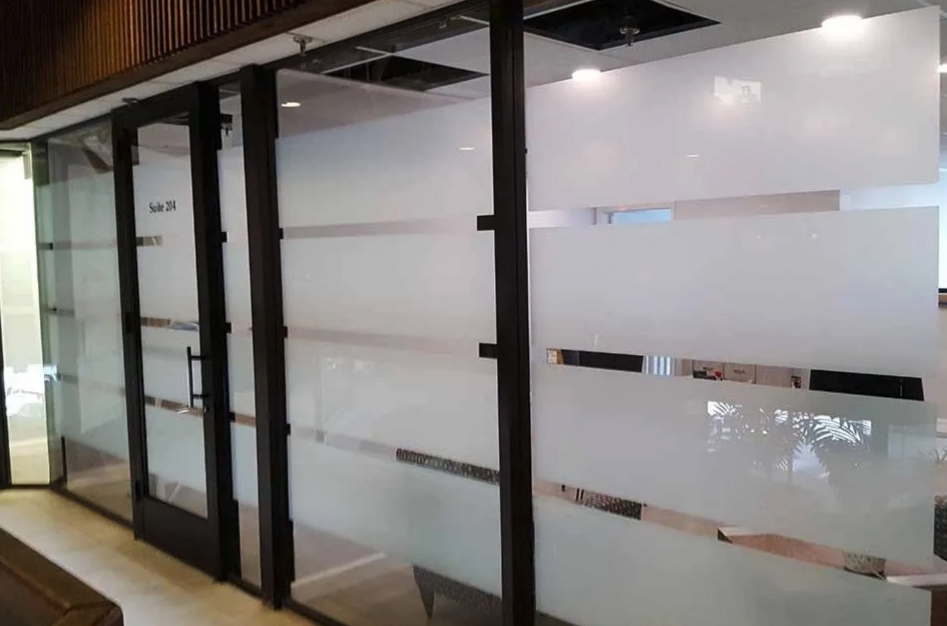 Five Reasons Decorative Glass Films are Preferred for Privacy & Branding - Decorative Window Films in Buffalo and Western New York